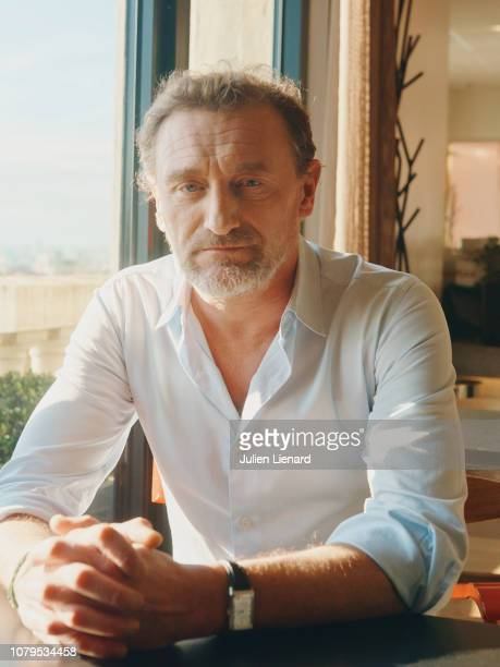 Actor JeanPaul Rouve poses for a portrait on November 2018 in Paris France