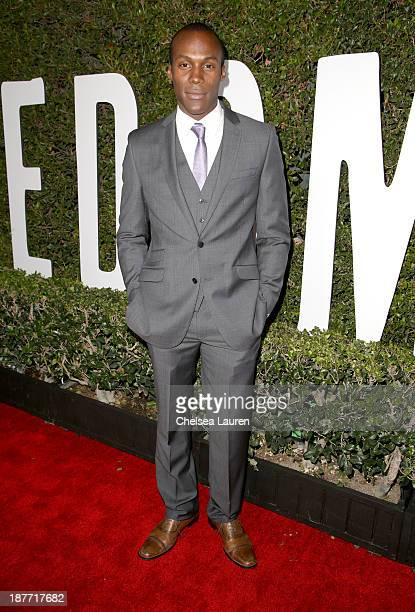 Actor JeanPierre Vertus attends 'The Weinstein Company Presents The LA Premiere Of 'Mandela Long Walk To Freedom' Supported By Burberry' at ArcLight...
