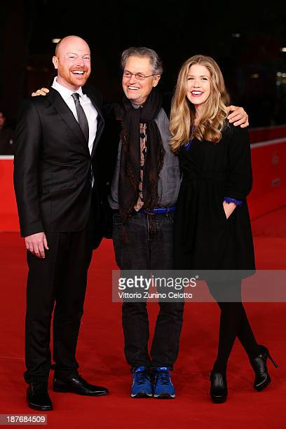 Actor Jeff Biehl director Jonathan Demme and actress Lisa Joyce attend 'La Santa' Premiere And 'Fear Of Falling' Premiere during The 8th Rome Film...