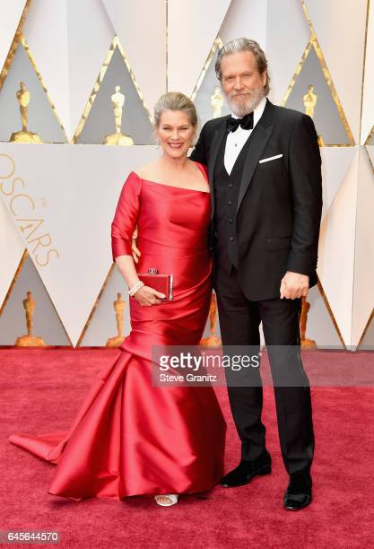Actor Jeff Bridges and Susan Bridges attend the 89th Annual Academy Awards at Hollywood Highland Center on February 26 2017 in Hollywood California