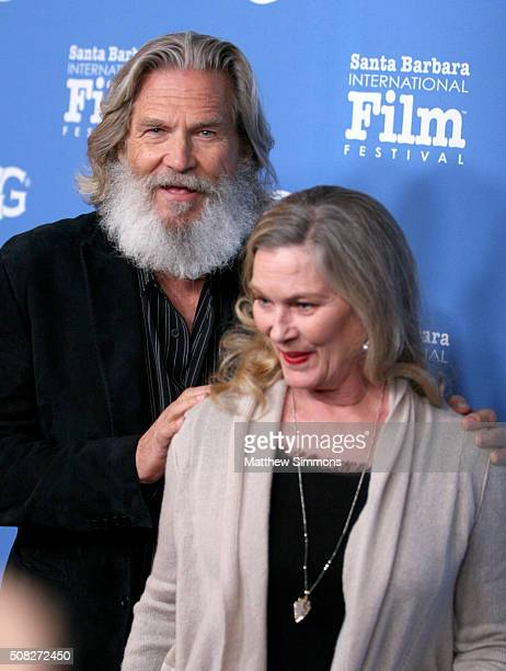 Actor Jeff Bridges and Susan Geston attend the opening night presentation of 'The Little Prince' at the Arlington Theater during the 31st Santa...