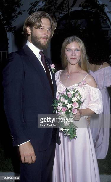 Actor Jeff Bridges and wife Suzie Bridges attend Cindy Bridges Wedding Reception on August 31 1979 at the Bel Air Hotel in Bel Air California