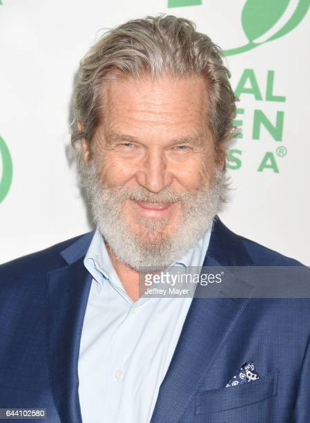 Actor Jeff Bridges arrives at the 14th Annual Global Green PreOscar Gala at TAO Hollywood on February 22 2017 in Los Angeles California