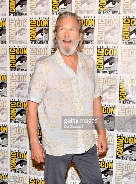 Actor Jeff Bridges at the 'Kingsman The Secret Service' press line at Hilton Bayfront during ComicCon International 2017 on July 20 2017 in San Diego...