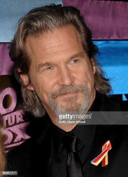 Actor Jeff Bridges attends Fox's 2010 Golden Globes Awards Party at Craft on January 17 2010 in Century City California