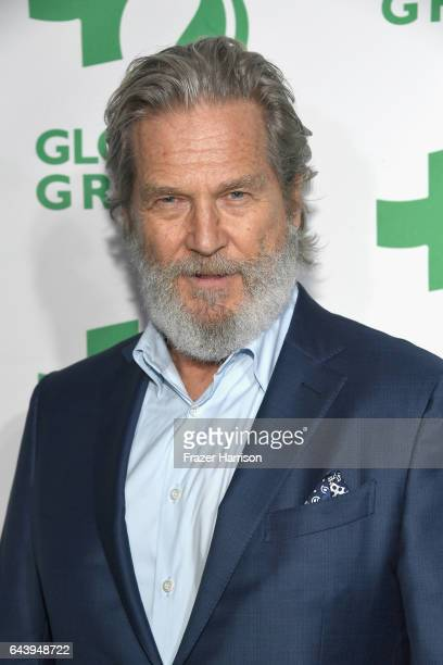 Actor Jeff Bridges attends the 14th Annual Global Green Pre Oscar Party at TAO Hollywood on February 22 2017 in Los Angeles California