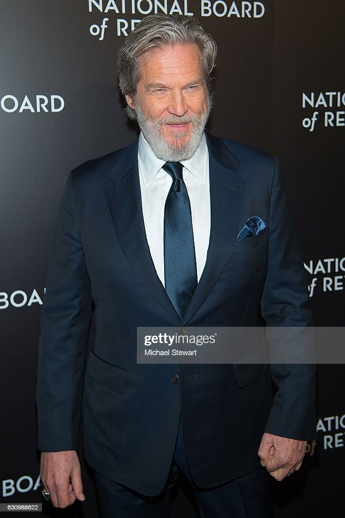 Actor Jeff Bridges attends the 2016 National Board of Review Gala at Cipriani 42nd Street on January 4, 2017 in New York City.