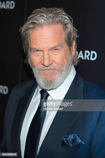 Actor Jeff Bridges attends the 2016 National Board of Review Gala at Cipriani 42nd Street on January 4 2017 in New York City