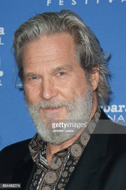 Actor Jeff Bridges attends the American Riviera Award honoring Jeff Bridges at the Arlington Theatre on February 9 2017 in Santa Barbara California