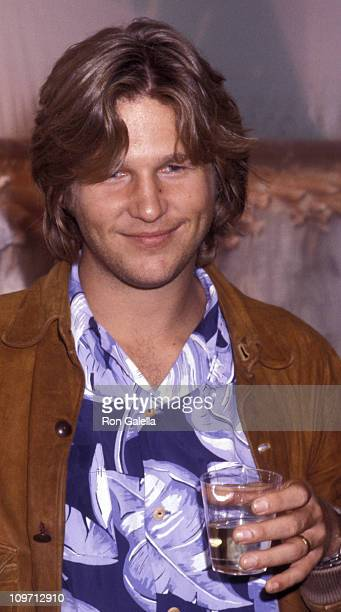 Actor Jeff Bridges attends the grand opening of Camp Beverly Hills Boutique on June 23 1977 in Beverly Hills California