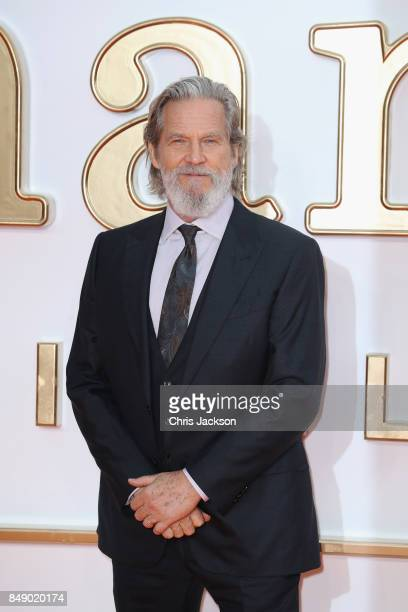 Actor Jeff Bridges attends the 'Kingsman The Golden Circle' World Premiere held at Odeon Leicester Square on September 18 2017 in London England