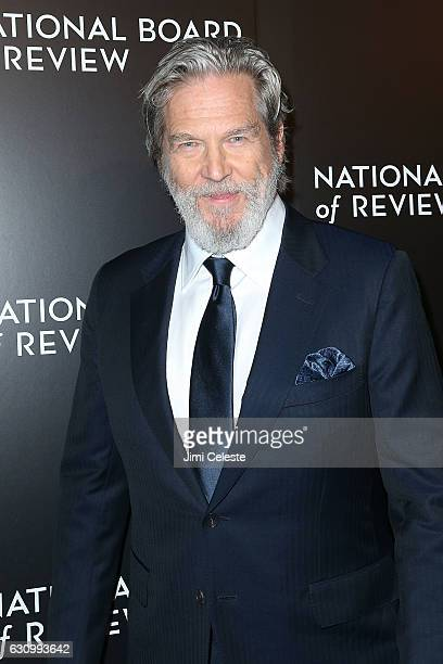 Actor Jeff Bridges attends The National Board of Review Gala on January 4 2017 in New York City