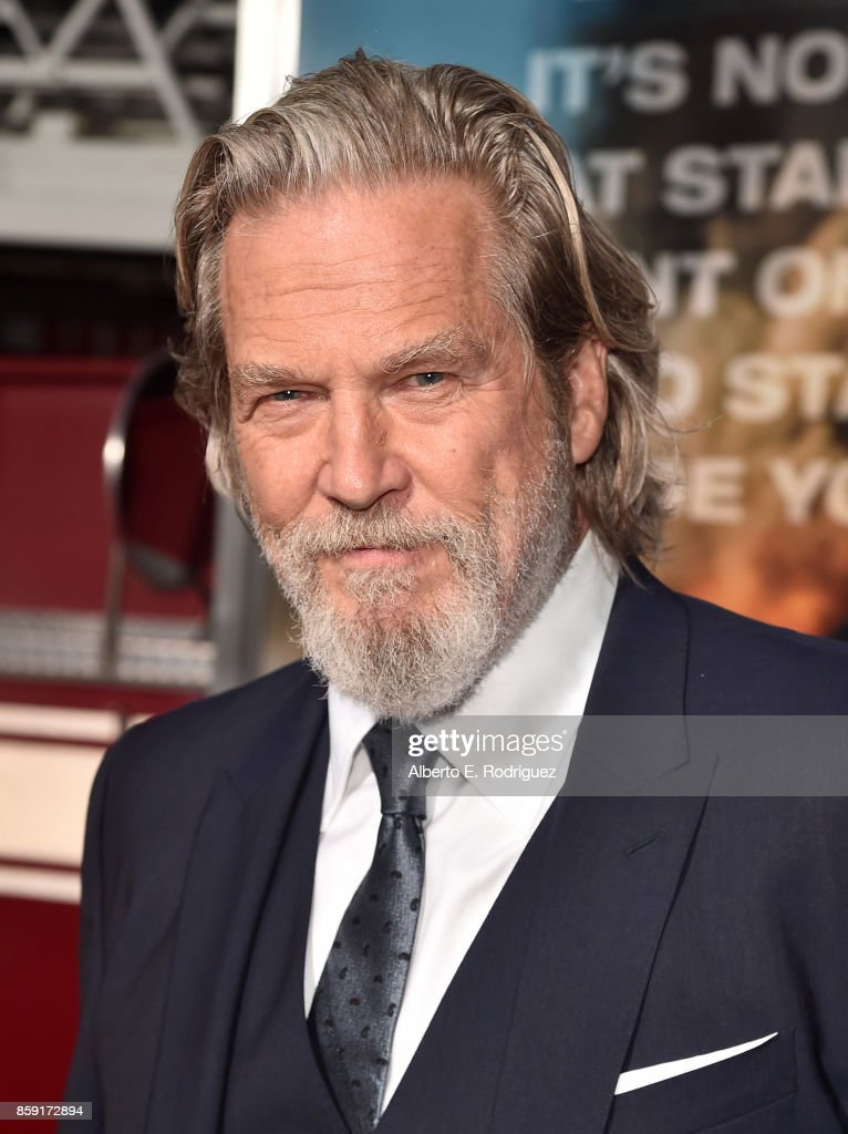 Actor Jeff Bridges attends the premiere of Columbia Pictures' 'Only The Brave' at the Regency Village Theatre on October 8, 2017 in Westwood, California.