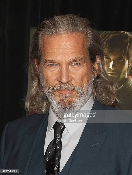 """Actor Jeff Bridges attends the """"Seventh Son"""" special screening at Crosby Street Hotel on January 30, 2015 in New York City."""
