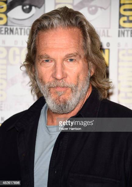 Actor Jeff Bridges attends the The Giver Press Line during ComicCon International 2014 at Hilton Bayfront on July 24 2014 in San Diego California