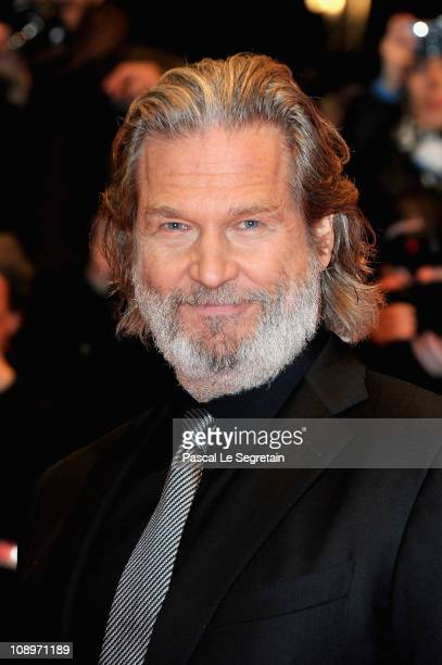 Actor Jeff Bridges attends the 'True Grit' Premiere during the opening day of the 61st Berlin International Film Festival at Berlinale Palace on...