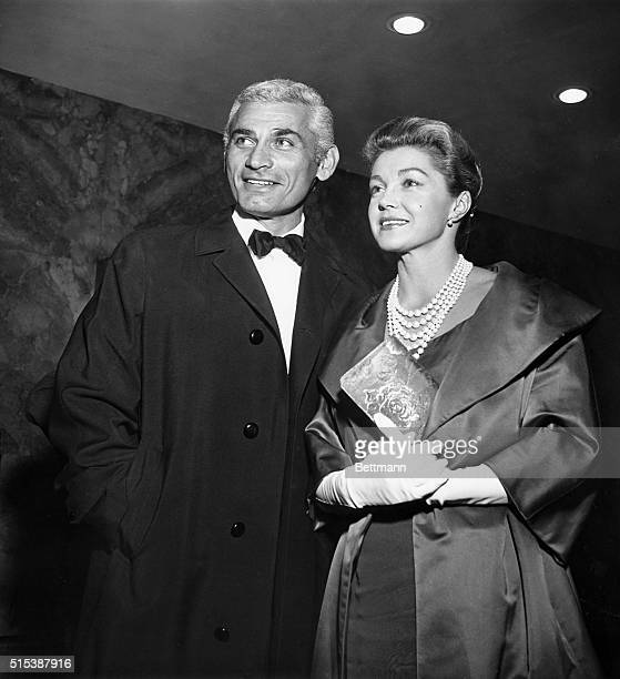 Actor Jeff Chandler and actress Esther Williams, who both met while filming a movie in Italy, are rumored to wed when their respective divorces are...