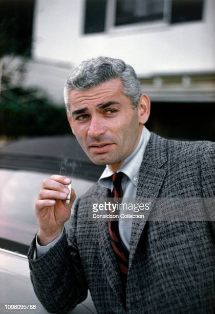 Actor Jeff Chandler poses for a portrait in 1957 in Los Angeles, California.