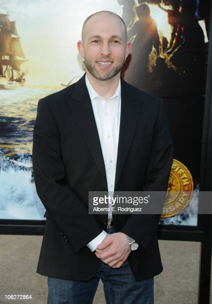 Actor Jeff Cohen attends the Warner Bros 25th Anniversary celebration of The Goonies on October 27 2010 in Burbank California