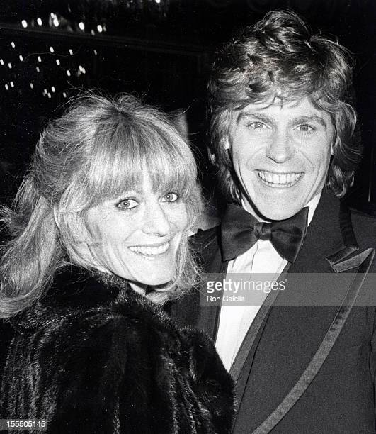 Actor Jeff Conaway and wife Rona NewtonJohn attending 36th Annual Golden Globe Awards on January 27 1979 at the Beverly Hilton Hotel in Beverly Hills...