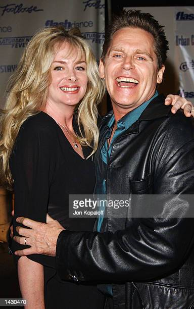 Actor Jeff Conaway from the movie Grease and wife attend the Celebration of Paramount Studio's 90th Anniversary with the release of six alltime...