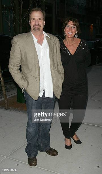 """Actor Jeff Daniels and guest attend the Cinema Society with UGG & Suffolk County Film Commission's screening of """"Paper Man"""" at the Crosby Street..."""