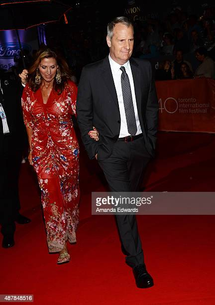 Actor Jeff Daniels and his wife Kathleen Rosemary Treado attend the The Martian premiere during the 2015 Toronto International Film Festival at Roy...