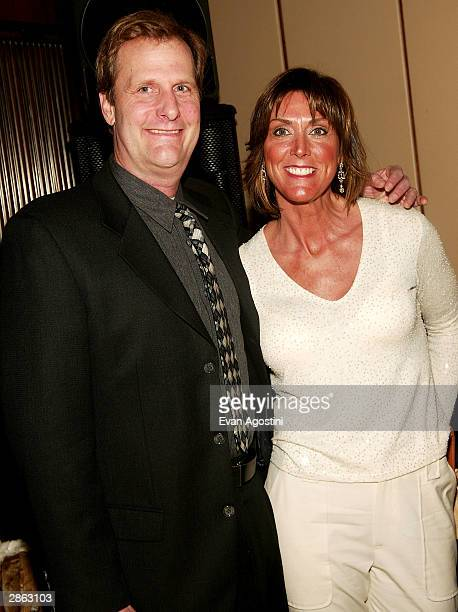 Actor Jeff Daniels and wife Kathleen attend the afterparty for the special screening of TNT's The Goodbye Girl at The Four Seasons Restaurant January...