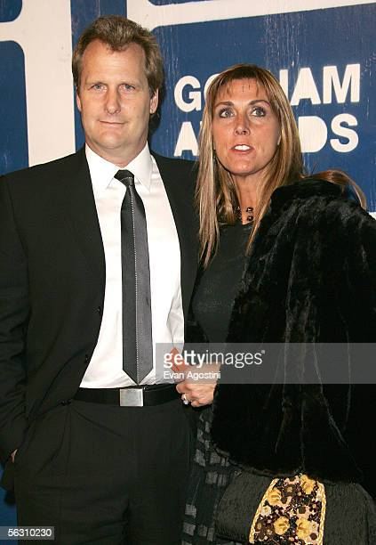 Actor Jeff Daniels and wife Kathleen Daniels attend IFP's 15th Annual Gotham Awards at Chelsea Piers November 30 2005 in New York City
