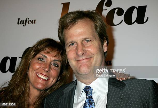 Actor Jeff Daniels and wife Kathleen Treado arrive at the 31st Annual Los Angeles Film Critics Association Awards held at the Park Hyatt on January...