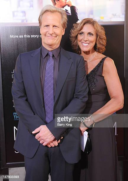 Actor Jeff Daniels and wife Kathleen Treado attend the premiere of HBO's 'Newsroom' at ArcLight Cinemas Cinerama Dome on June 20 2912 in Hollywood...