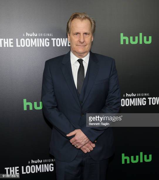 Actor Jeff Daniels attends Hulu's The Looming Tower series premiere at Paris Theatre on February 15 2018 in New York City