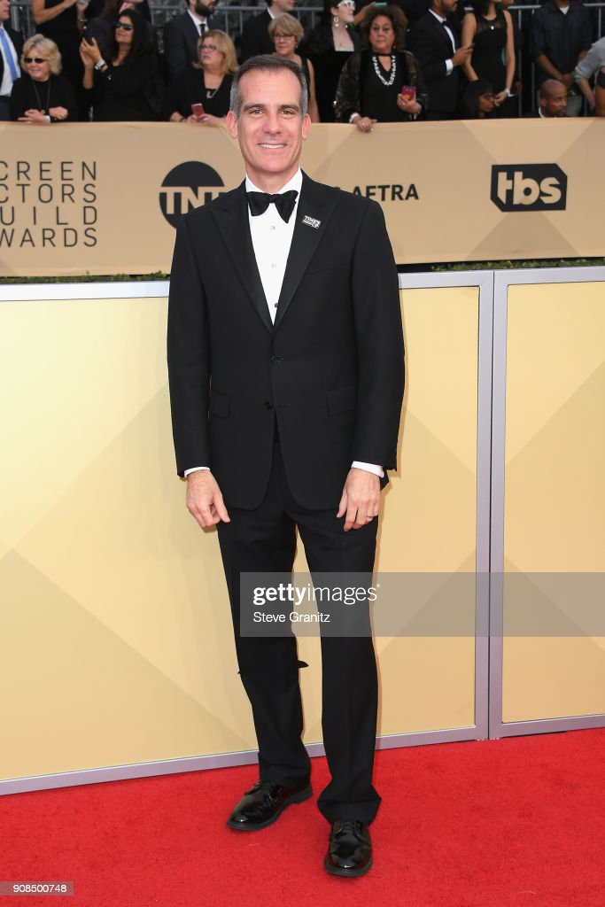 Actor Jeff Daniels attends the 24th Annual Screen ActorsGuild Awards at The Shrine Auditorium on January 21, 2018 in Los Angeles, California.