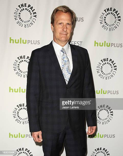 Actor Jeff Daniels attends the 30th annual PaleyFest The William S Paley Television Festival featuring The Newsroom at Saban Theatre on March 3 2013...