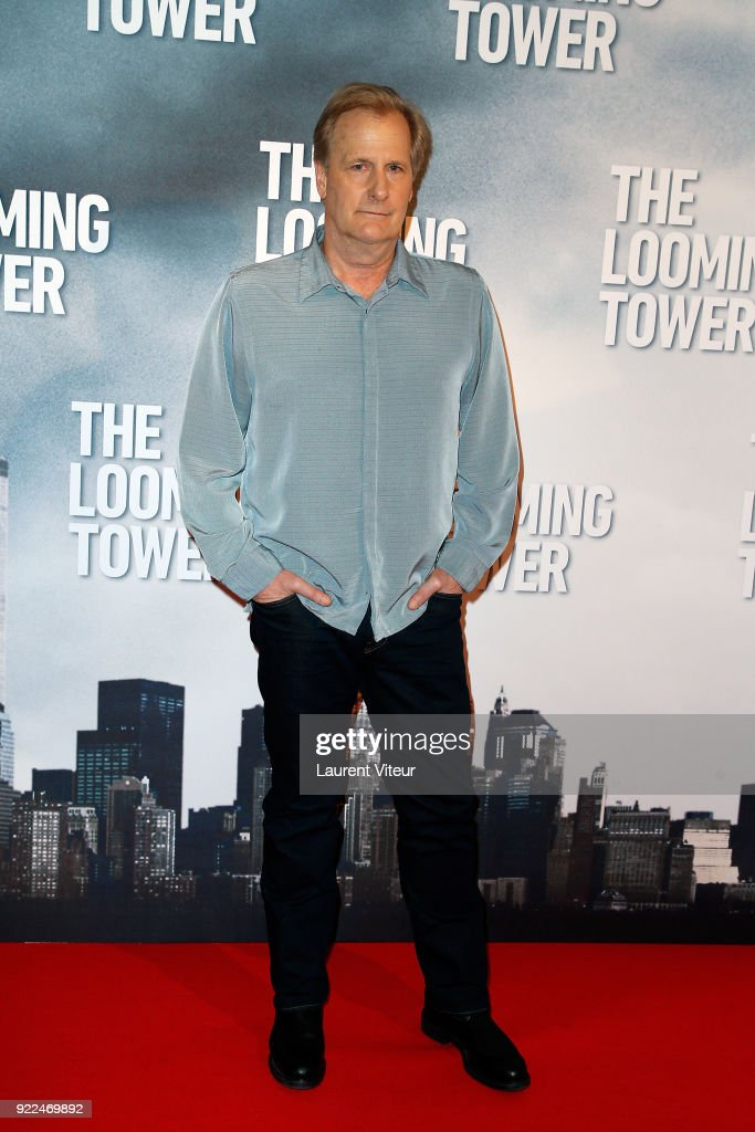 Actor Jeff Daniels attends 'The Looming Tower' Special Screening, The New Series broadcasted on Amazon Prime Video at Hotel Royal Monceau Raffle on February 21, 2018 in Paris, France.