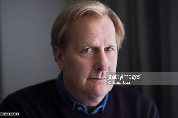 Actor Jeff Daniels is photographed for Los Angeles Times on October 22 2017 in Los Angeles California