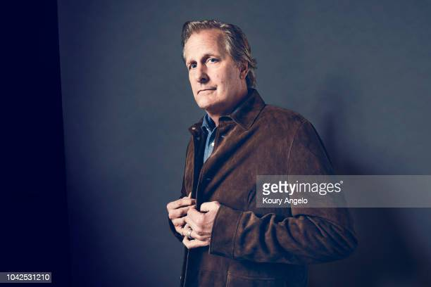 Actor Jeff Daniels is photographed for The Hollywood Reporter on April 28 2018 in Los Angeles California PUBLISHED IMAGE