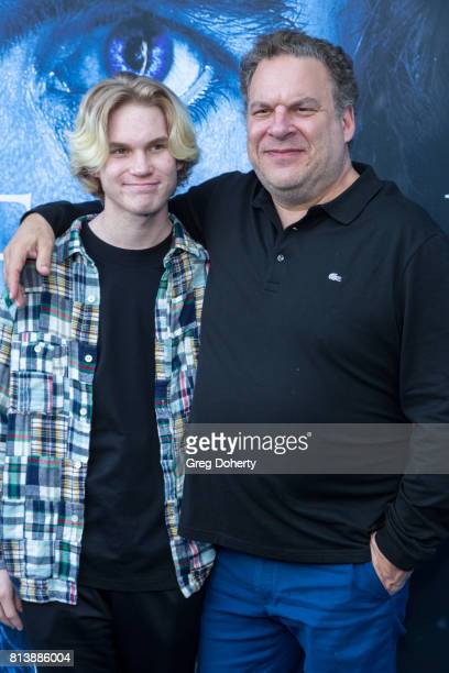 Actor Jeff Garlin and son Duke Garlin attend the Premiere Of HBO's Game Of Thrones Season 7 at Walt Disney Concert Hall on July 12 2017 in Los...