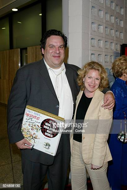 Actor Jeff Garlin and wife arrive at the 40th anniversary celebration for the Arclight Cinerama Dome and MGM's new 40th Anniversary Special Edition...