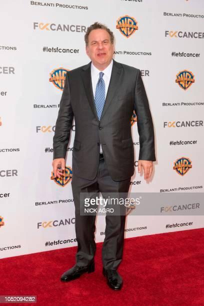 US actor Jeff Garlin arrives for the F*ck Cancer Gala at Warner Bros Studio in Burbank California on October 13 2018