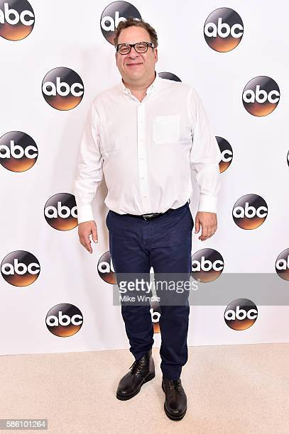 Actor Jeff Garlin attends the Disney ABC Television Group TCA Summer Press Tour on August 4 2016 in Beverly Hills California