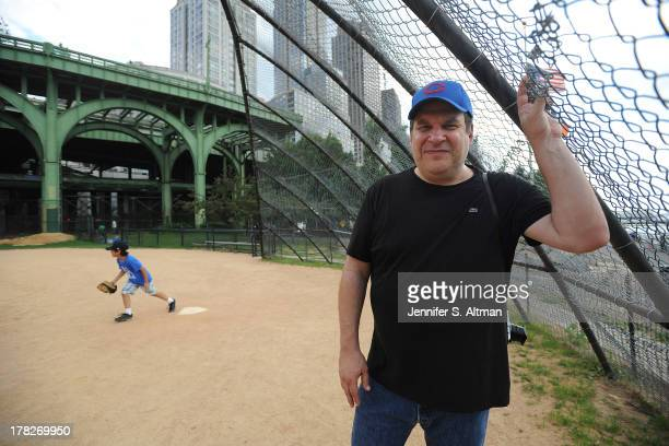 Actor Jeff Garlin is photographed for Los Angeles Times on July 15 2013 in New York City PUBLISHED IMAGE