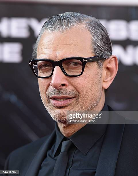 Actor Jeff Goldblum arrives at the premiere of 20th Century Fox's 'Independence Day Resurgence' at TCL Chinese Theatre on June 20 2016 in Hollywood...