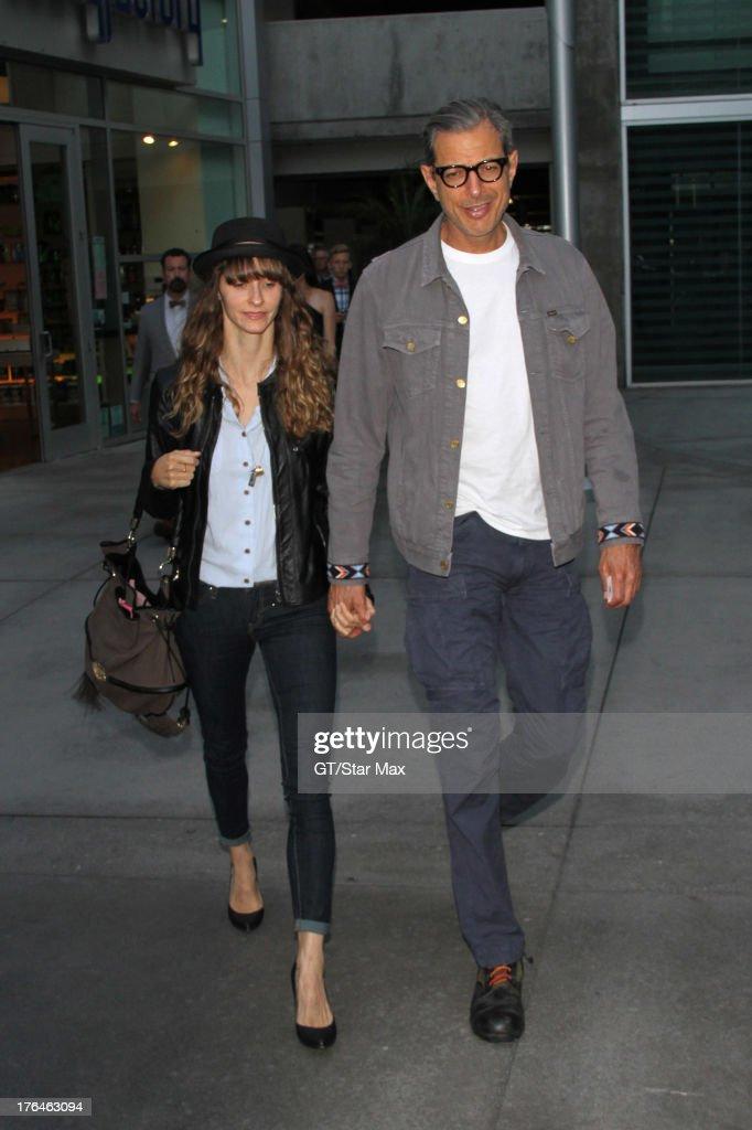 Actor Jeff Goldblum as seen on August 12, 2013 in Los Angeles, California.