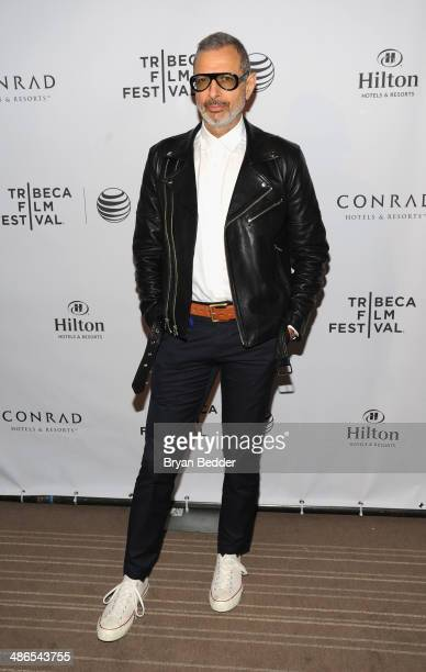 Actor Jeff Goldblum attends Conrad Hotels Resorts hosts the Tribeca Film Festival Awards Ceremony at Conrad New York on April 24 2014 in New York City