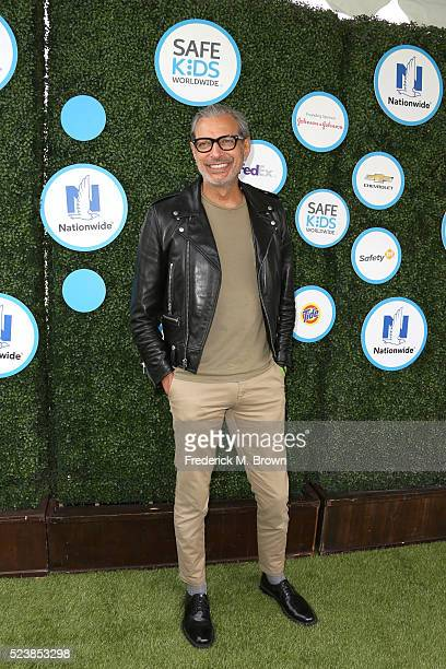 Actor Jeff Goldblum attends Safe Kids Day at Smashbox Studios on April 24 2016 in Culver City California