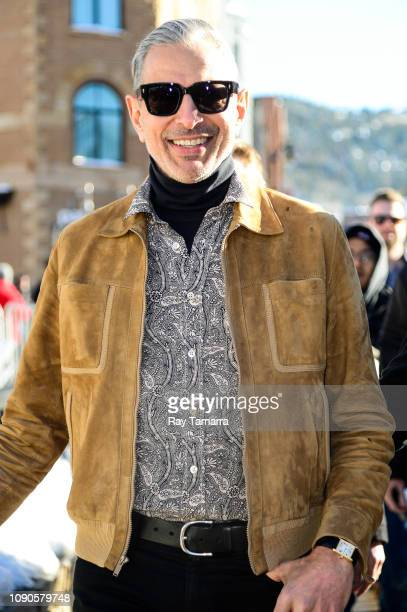 Actor Jeff Goldblum attends the 2019 Sundance Film Festival on January 27 2019 in Park City Utah