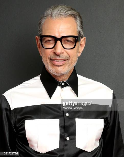 Actor Jeff Goldblum attends the Calvin Klein Collection fashion show at New York Stock Exchange on September 11 2018 in New York City