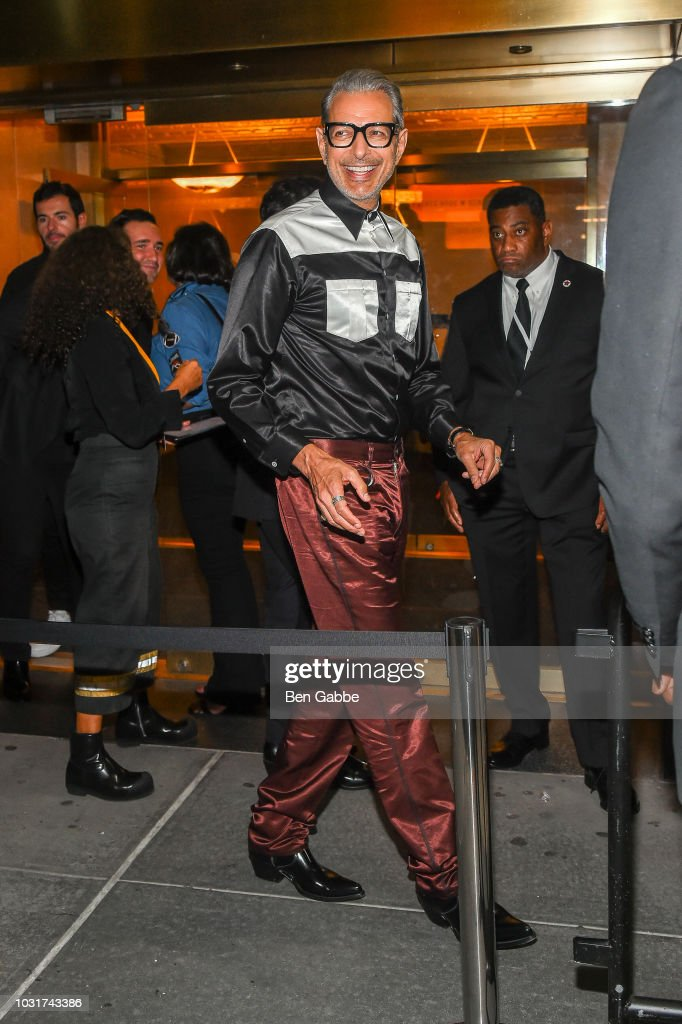 NY: Calvin Klein Collection - Outside Arrivals - September 2018 - New York Fashion Week