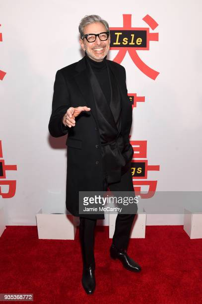 Actor Jeff Goldblum attends the Isle Of Dogs New York Screening at The Metropolitan Museum of Art on March 20 2018 in New York City